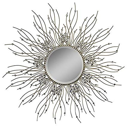 Beautiful Large Mirror For Bathroom,Livingroom Wall Mirror,Kitchen Wall Mirror Decorative in Sunburst Shape (Sunburst) MD104