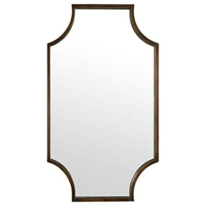 Stone & Beam Antique-Style Metal Frame Mirror, 32